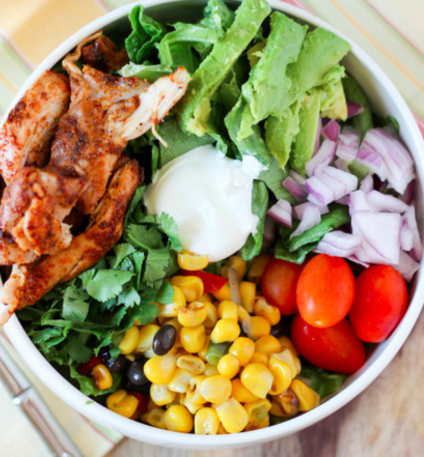 Healthy Lunch Salads  10 Simple Salads To Make This Week For Some Healthy