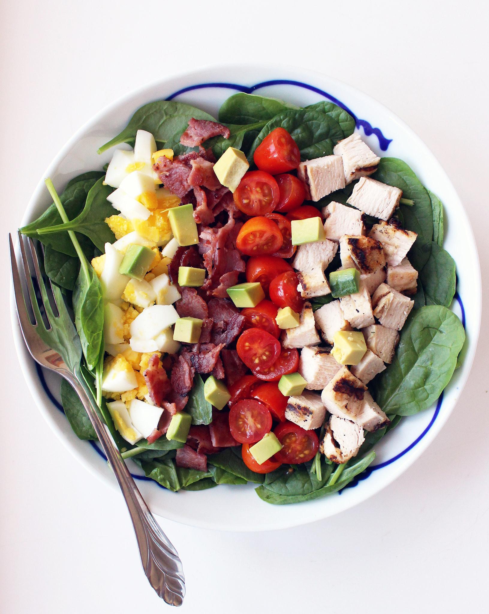 Healthy Lunch Salads  Healthy Cobb Salad