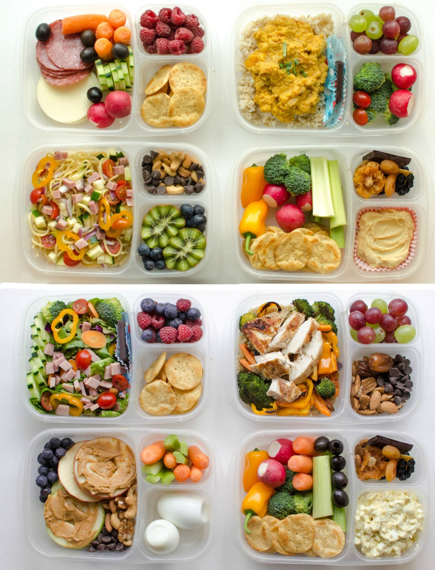 Healthy Lunch Snacks  8 Adult Lunch Box Ideas Healthy Recipes