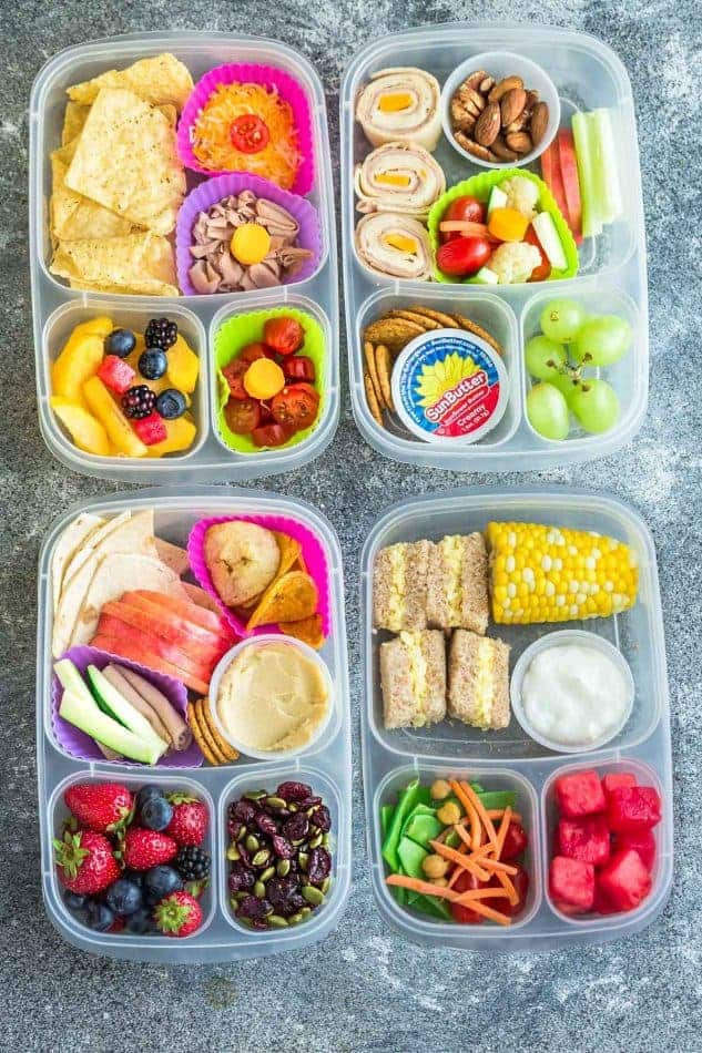 Healthy Lunch Snacks  8 Healthy & Easy School Lunches