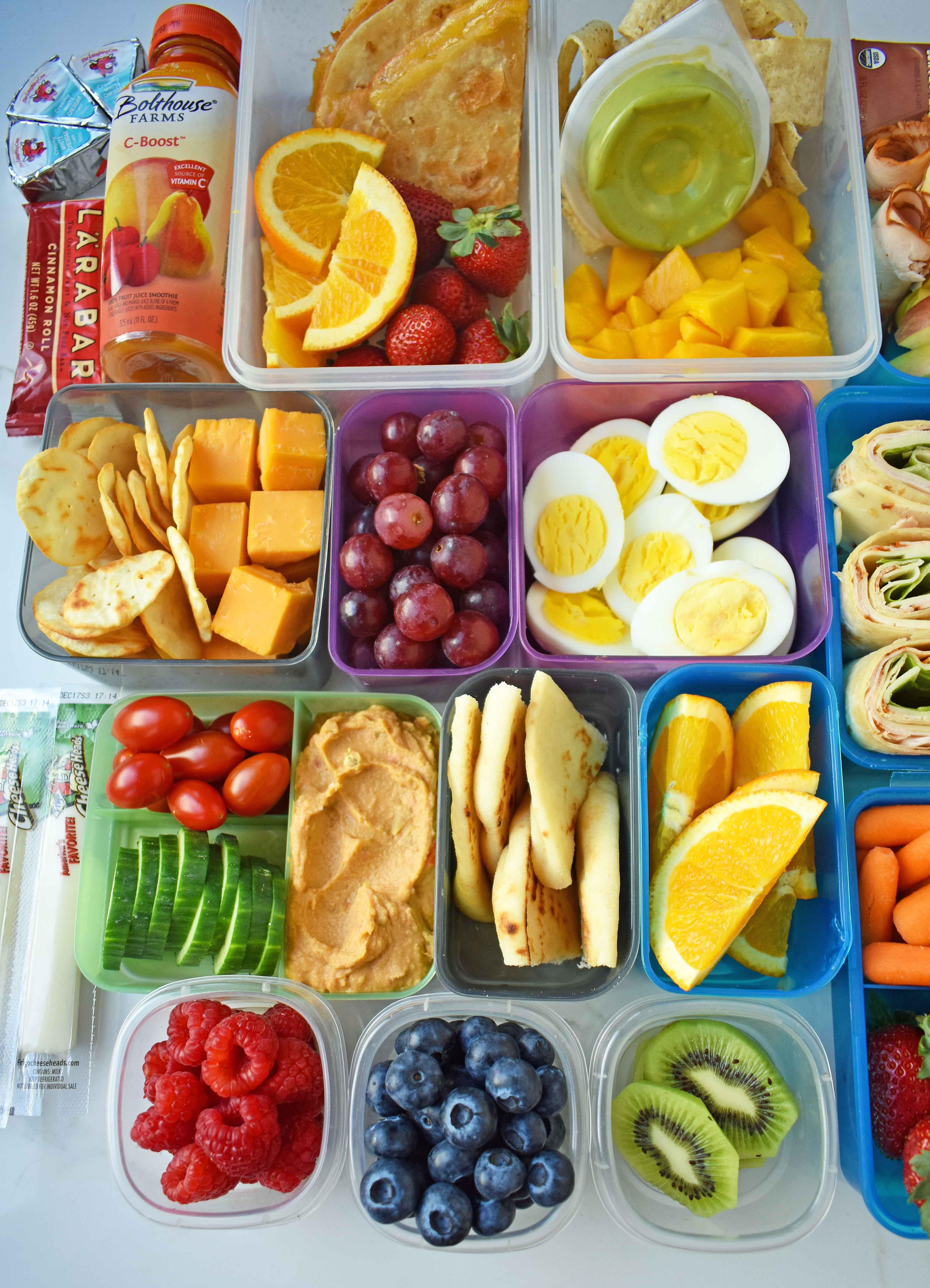 Healthy Lunch Snacks  Back to School Kids Lunch Ideas – Modern Honey