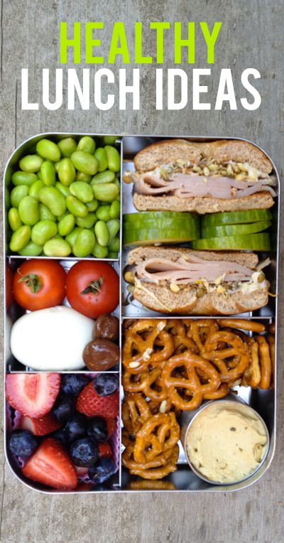 Healthy Lunch Snacks  Healthy Lunch Ideas