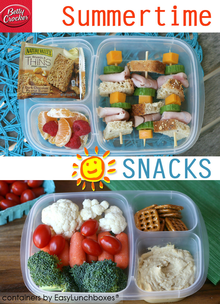 Healthy Lunch Snacks  Pack lunch dinner or snacks for the pool or beach