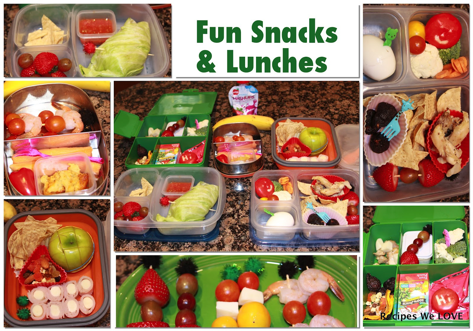 Healthy Lunch Snacks  Recipes We Love Healthy Kids Lunches and Snacks