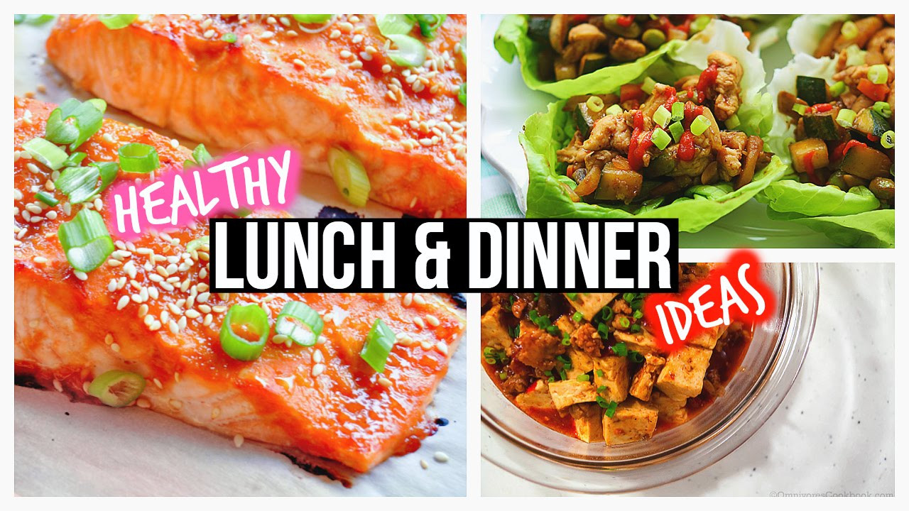 Healthy Lunches And Dinners  Healthy Lunch Ideas & Dinner For School