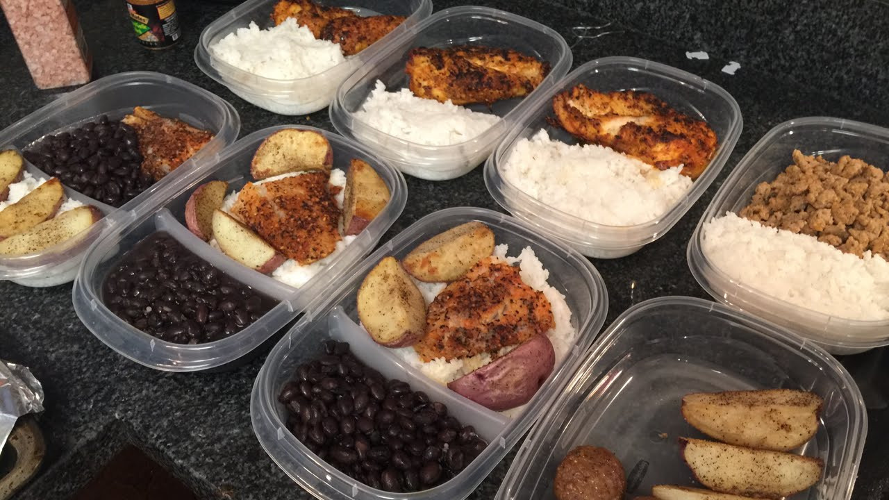 Healthy Lunches For College Students  Meal prep as a college student Bulk Shred