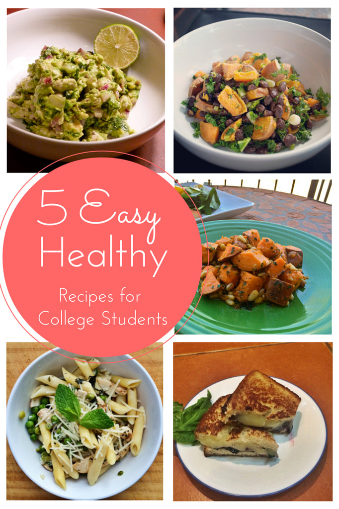 Healthy Lunches For College Students  5 Easy Healthy Recipes for Busy College Students The