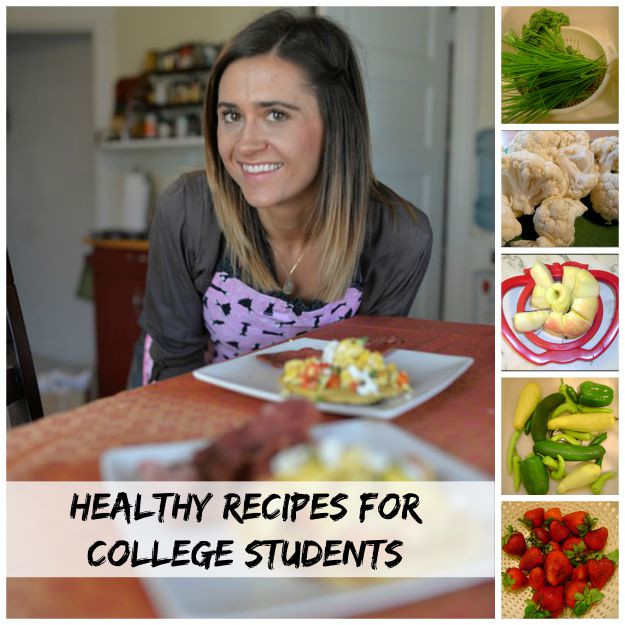 Healthy Lunches For College Students  Becky Cooks Lightly 20 e Serving Recipes For Singles