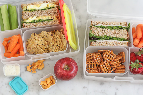 Healthy Lunches For College Students  25 Healthy Back To School Lunch Ideas • Hip Foo Mom