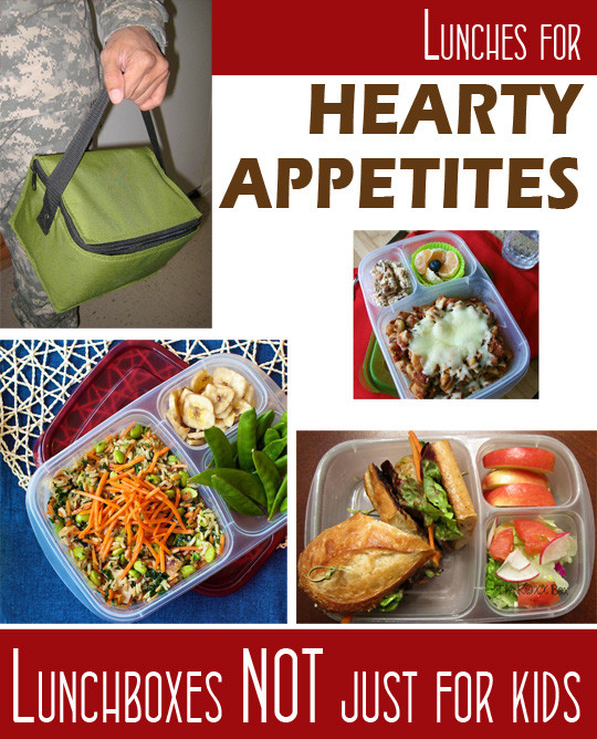 Healthy Lunches For Men  Adult bento lunch box ideas for work for a man or your