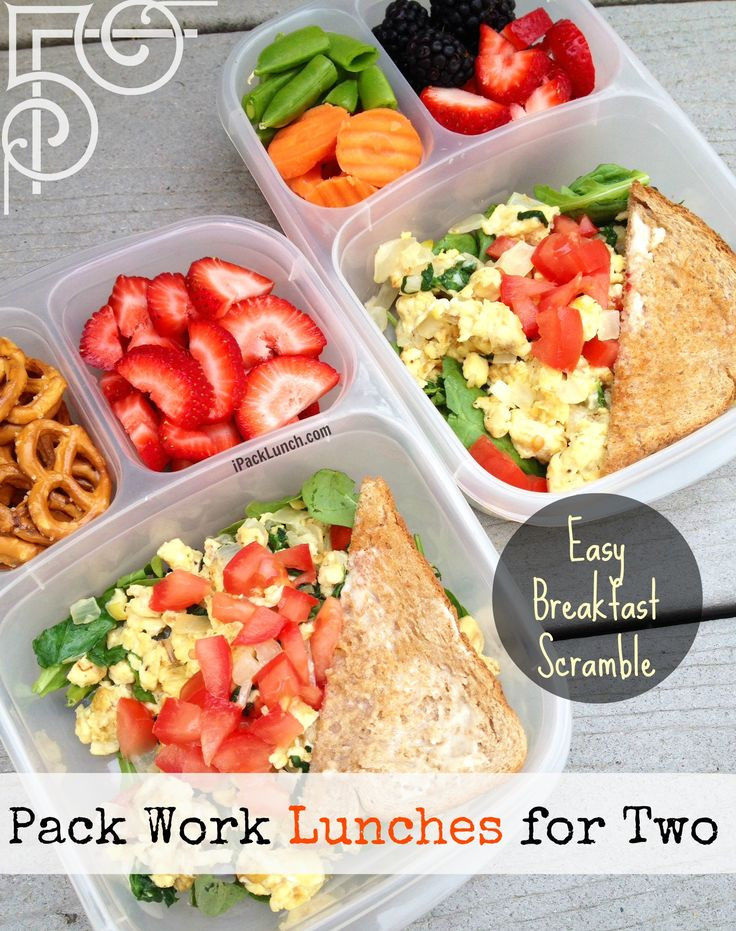 Healthy Lunches For Men  healthy lunches to pack for work