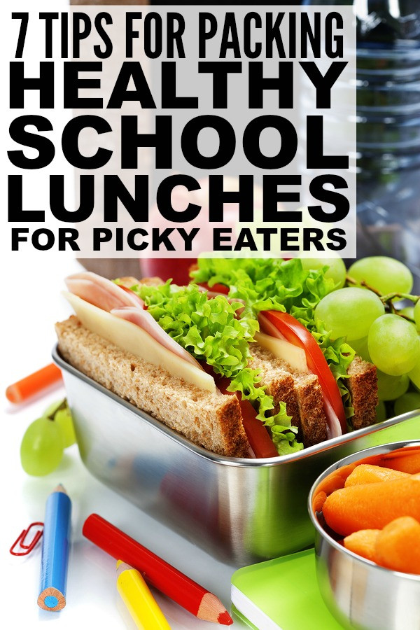 Healthy Lunches For Picky Eaters  7 tips for packing healthy school lunches for picky eaters