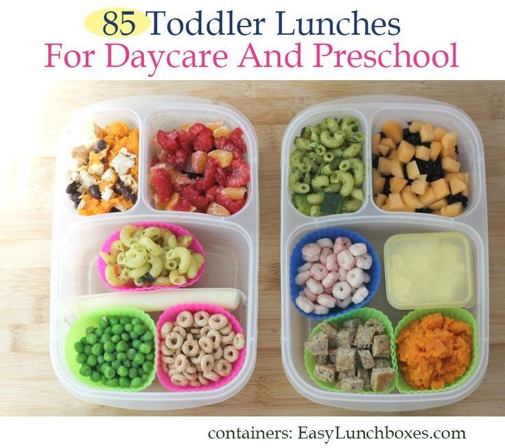Healthy Lunches For Preschoolers  The 25 best School lunch menu ideas on Pinterest