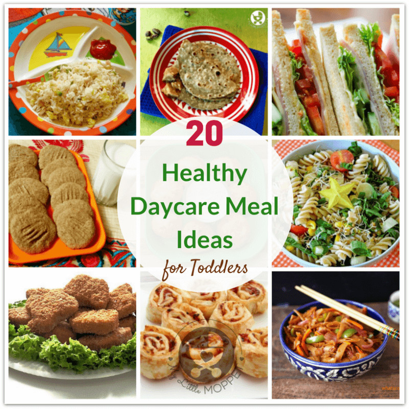 Healthy Lunches For Preschoolers  20 Healthy Daycare Meal Ideas for Toddlers