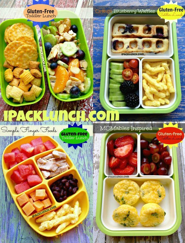 Healthy Lunches For Preschoolers  Gluten free toddler preschool healthy lunch ideas