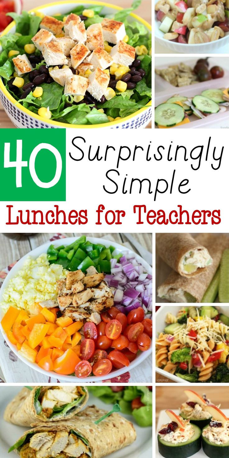 Healthy Lunches For Teachers  17 Best ideas about Teacher Lunches on Pinterest