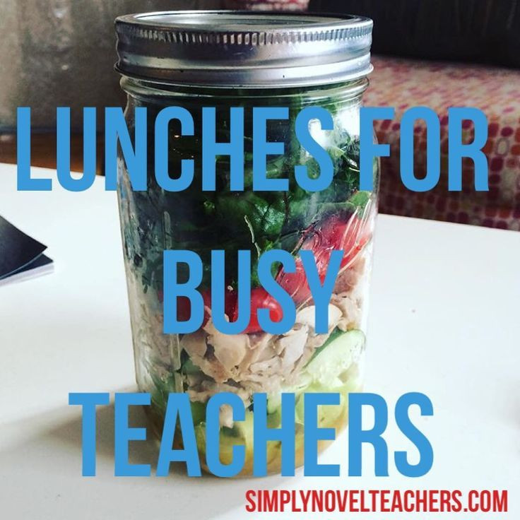Healthy Lunches For Teachers  92 best Healthy Teachers images on Pinterest
