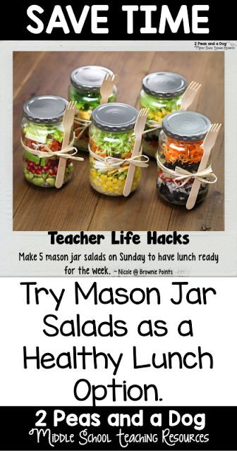 Healthy Lunches For Teachers  82 best Teacher Life Hacks images on Pinterest