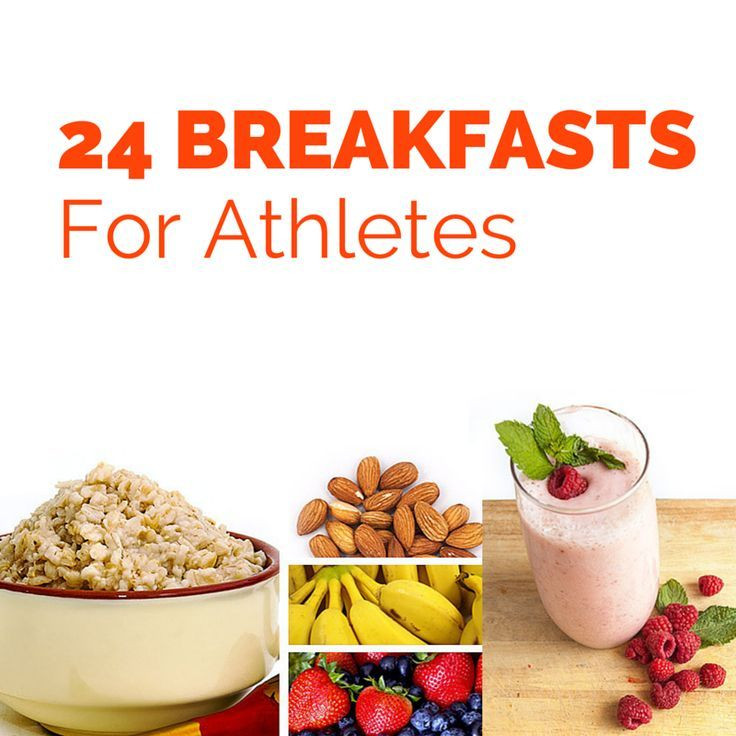 Healthy Lunches For Teenage Athletes  24 Healthy Breakfasts for Athletes bodybuilding