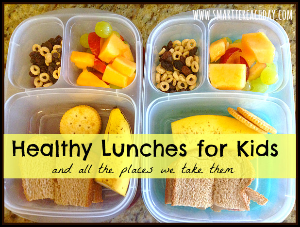Healthy Lunches For Teenagers To Take To School  Healthy To Go Lunches for Little es And 5 Places We