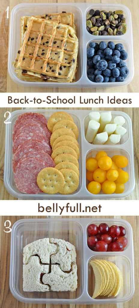 Healthy Lunches For Teenagers To Take To School  30 Back to School Lunchbox Ideas Belly Full