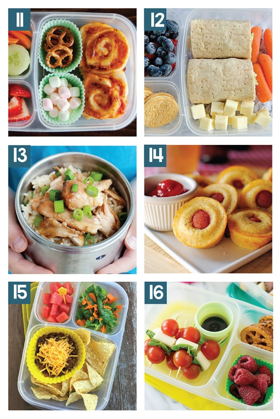 Healthy Lunches For Teenagers To Take To School  Easy School Lunch Ideas for Kids From The Dating Divas