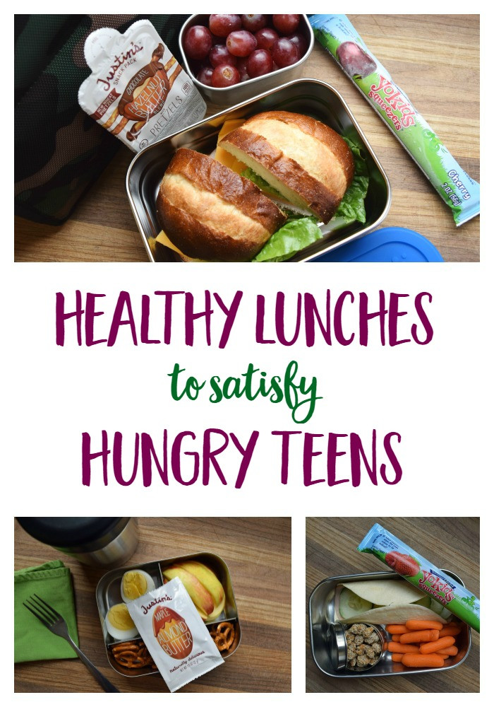 Healthy Lunches For Teenagers To Take To School  Healthy School Lunches for Hungry Teenagers