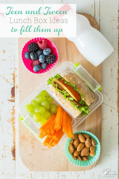 Healthy Lunches For Teens  9 School Lunch Ideas to Fill Up Your Teen or Tween The