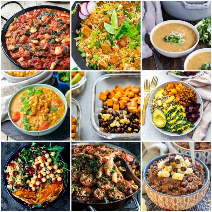 Healthy Lunches For The Week  30 Delicious Vegan Meal Prep Recipes Breakfast Lunch