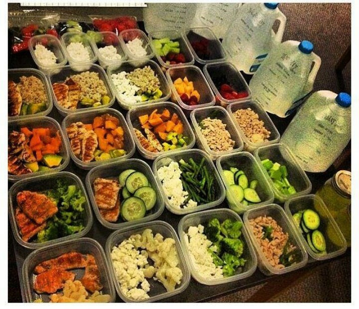 Healthy Lunches For The Week  e Week of Meal Prep East Dallas CrossFit