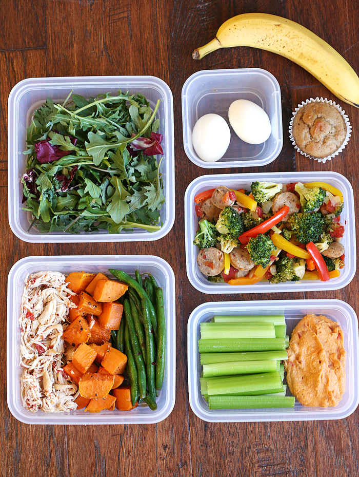 Healthy Lunches For The Week  My Weekly Meal Prep Routine Eat Yourself Skinny