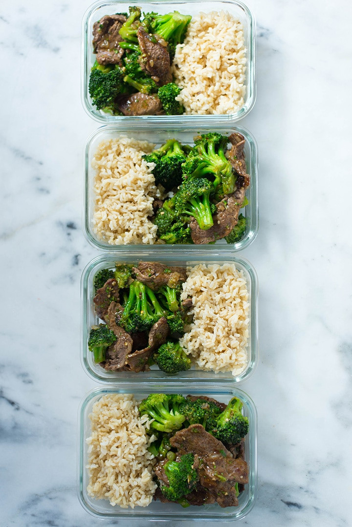 Healthy Lunches For Weight Loss  7 Day Meal Prep For Weight Loss • A Sweet Pea Chef