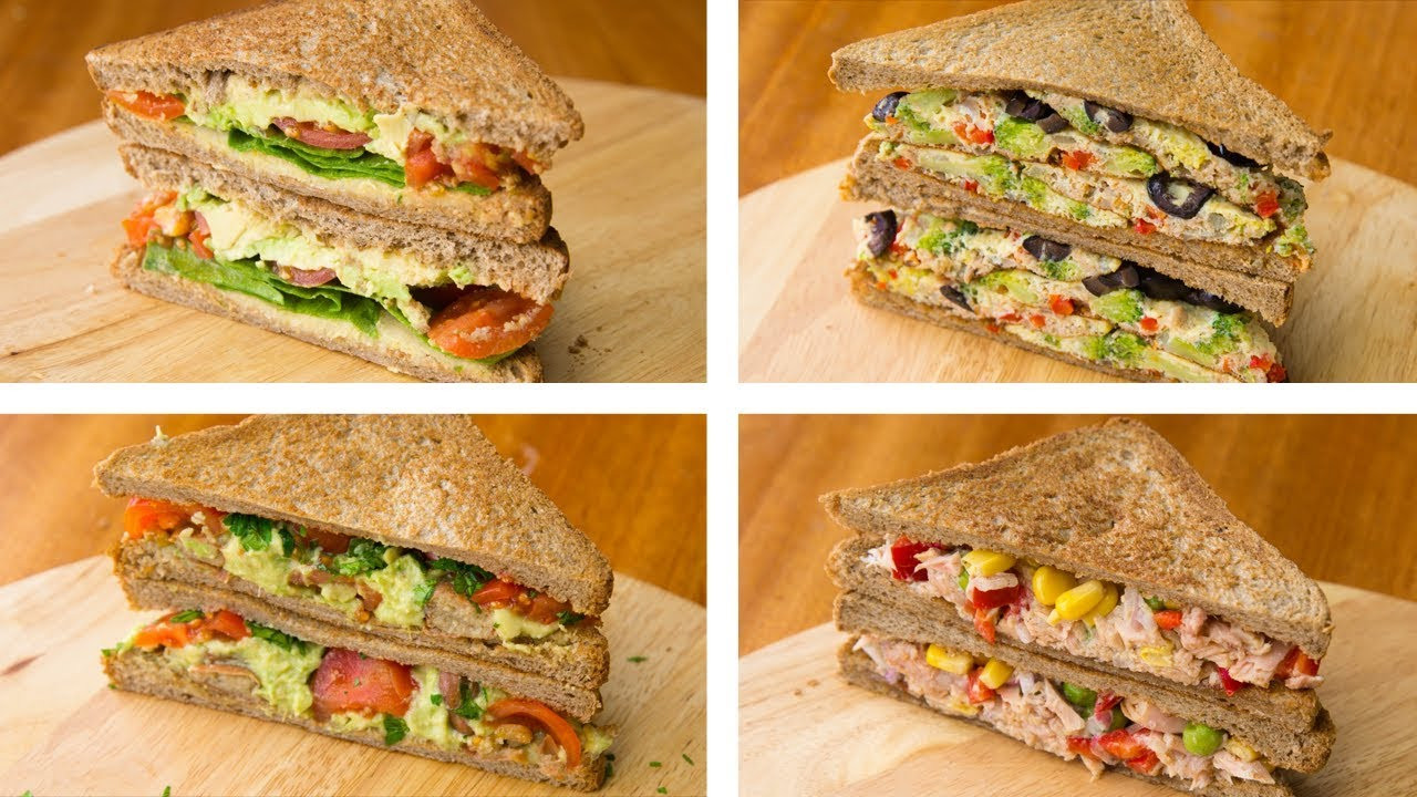 Healthy Lunches For Weight Loss  4 Healthy Sandwich Recipes For Weight Loss