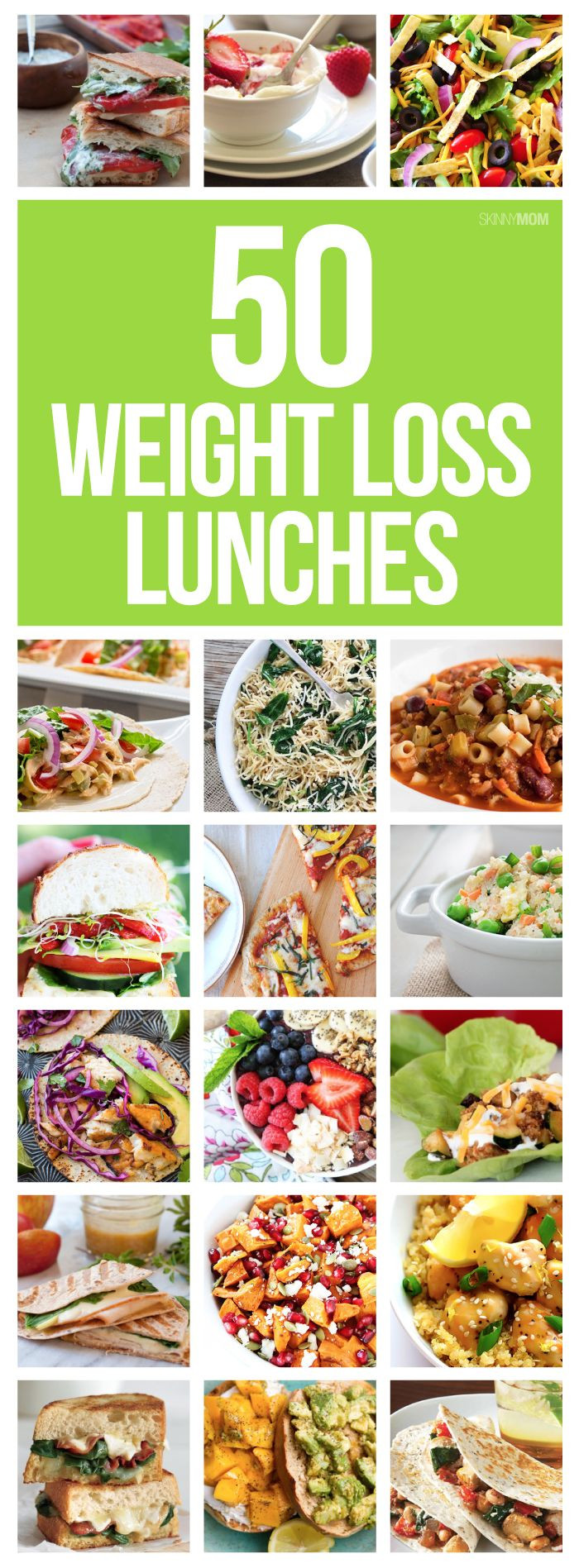 Healthy Lunches For Weight Loss  Nosh on 50 Healthy Lunches That ll Help You Lose Weight