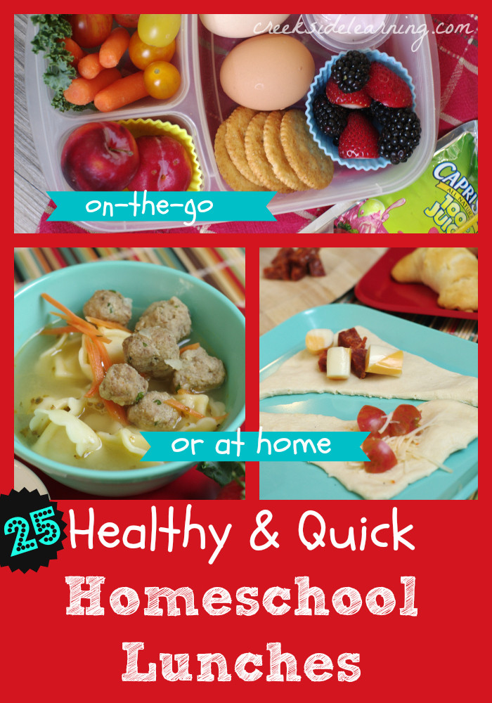 Healthy Lunches On The Go  25 Healthy and Easy Homeschool Lunch Ideas