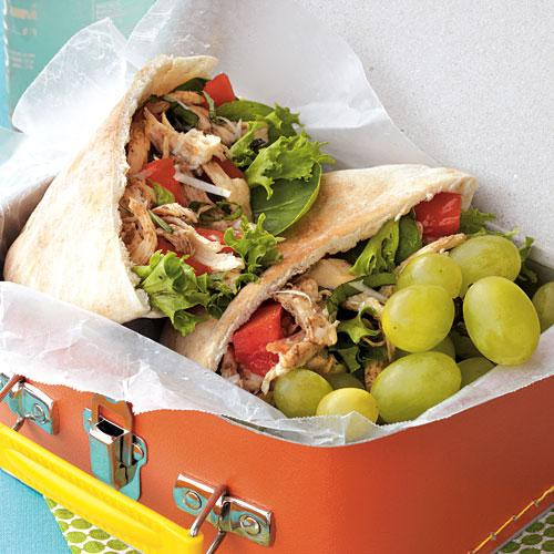 Healthy Lunches On The Go  Nutrition Made Easy Little Italy Chicken Pitas Healthy