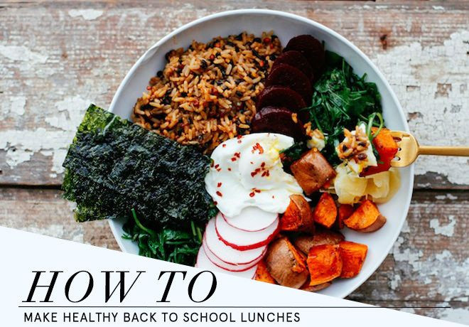 Healthy Lunches To Bring To School  How to Make Healthy Back To School Lunches