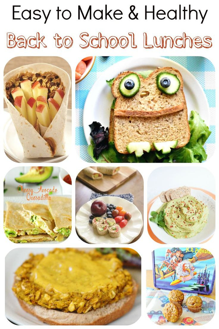 Healthy Lunches To Bring To School  34 best images about Kid Friendly Food on Pinterest