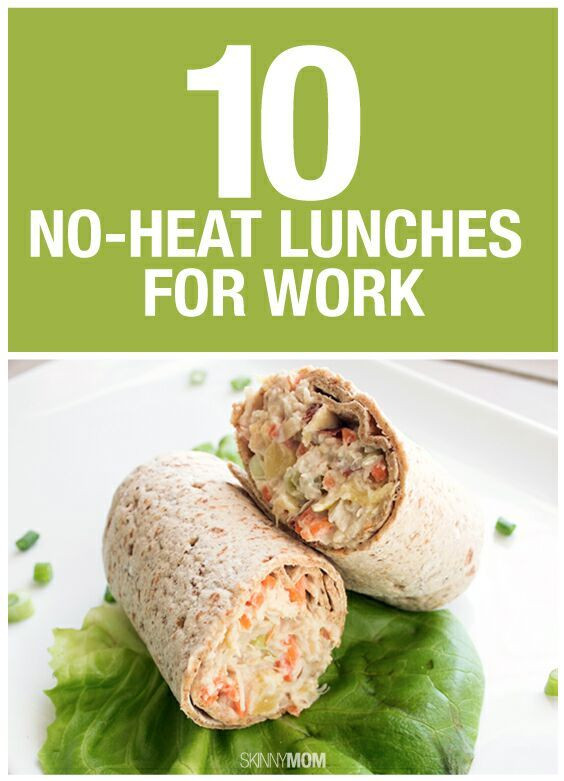 Healthy Lunches To Bring To Work  10 No Heat Lunches To Bring To Work