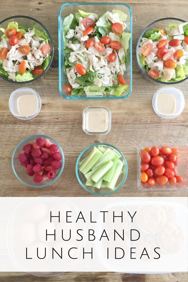 Healthy Lunches To Eat  25 best ideas about Husband lunch on Pinterest