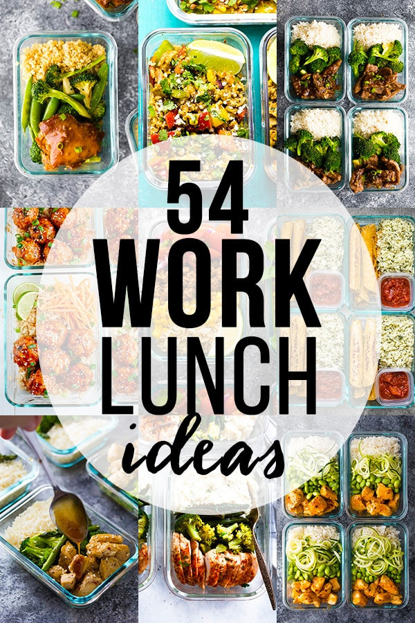 Healthy Lunches To Eat  54 Healthy Lunch Ideas For Work