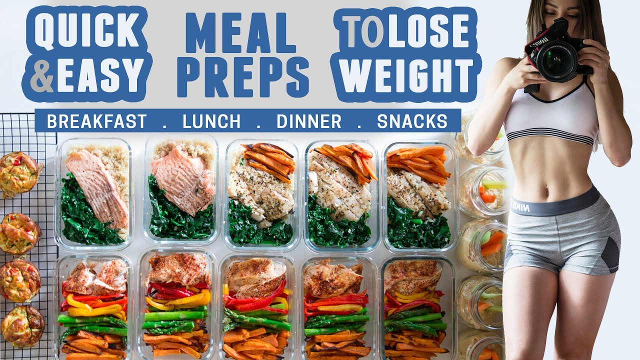Healthy Lunches To Lose Weight  How I Meal Prep Quick & Easy