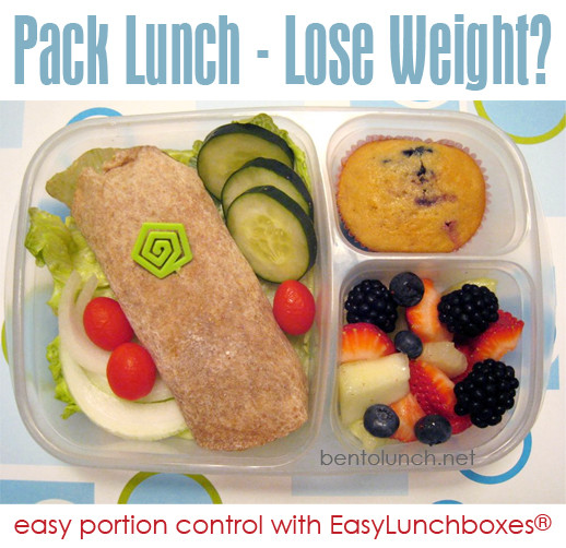 Healthy Lunches To Lose Weight  Adults can lose weight with portion controlled packed