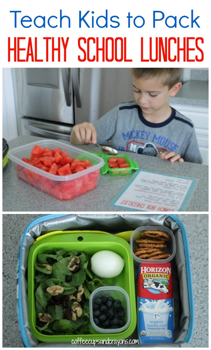 Healthy Lunches To Pack  Teach Kids to Pack Healthy School Lunches