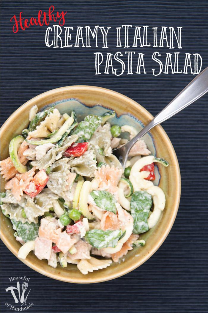 Healthy Macaroni Salad Without Mayo  macaroni salad with sour cream no mayo