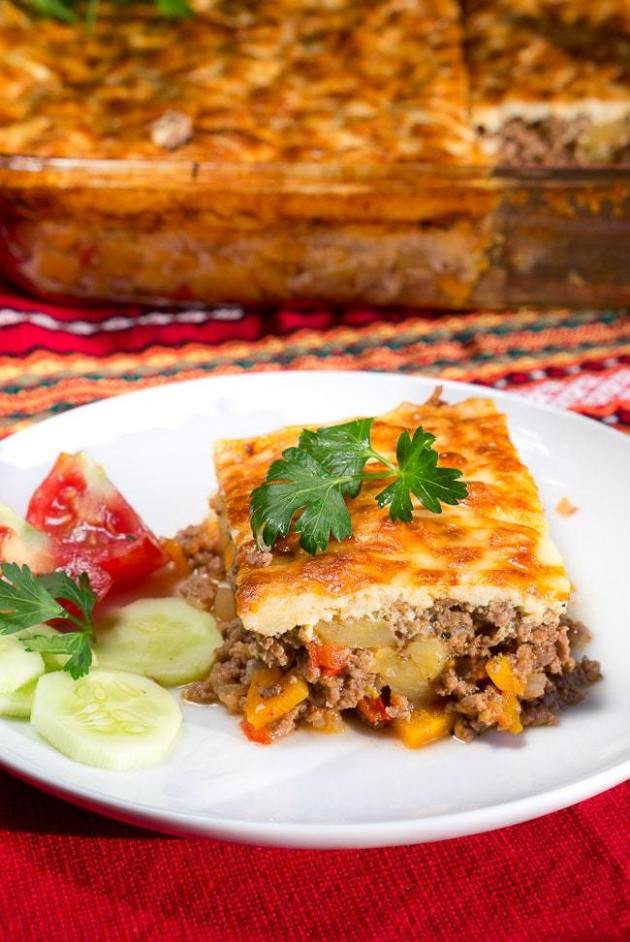 Healthy Main Dishes  Simple Moussaka Recipe