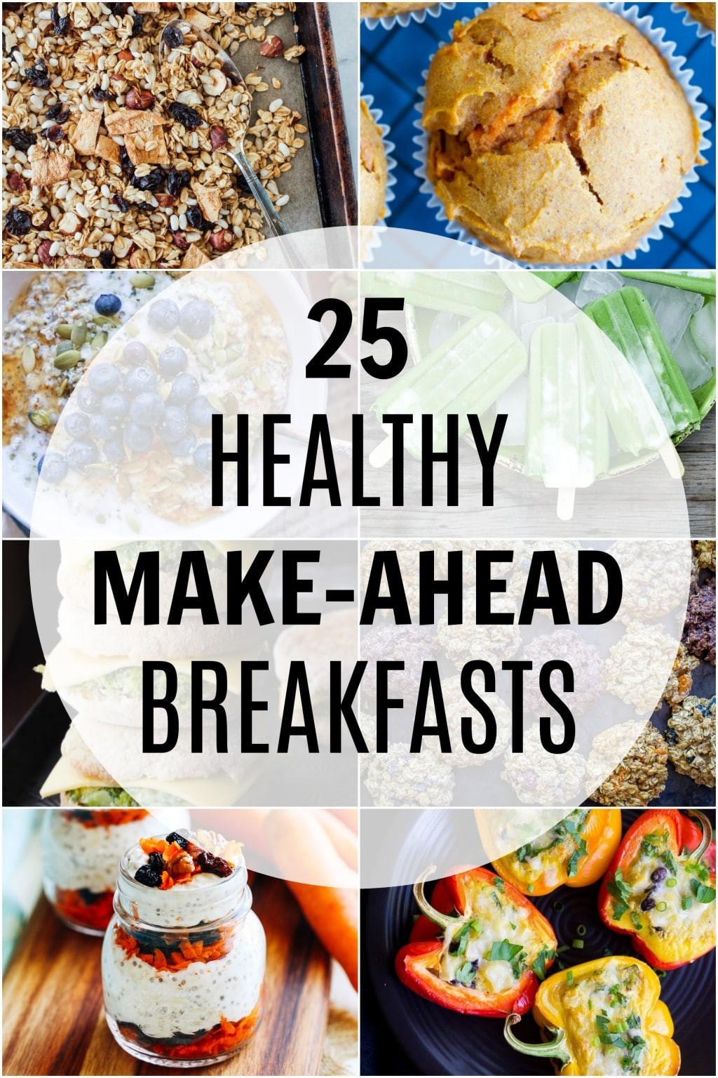 Healthy Make Ahead Breakfast  25 Healthy Make Ahead Breakfast Recipes She Likes Food