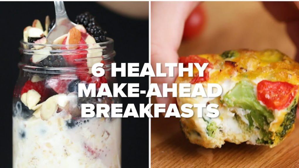 Healthy Make Ahead Breakfast  6 Healthy Make Ahead Breakfasts For Your Busy Life