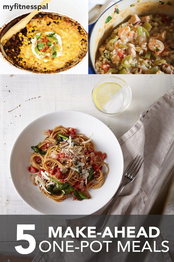 Healthy Make Ahead Dinners  5 Make Ahead e Pot Meals Hello HealthyHello Healthy