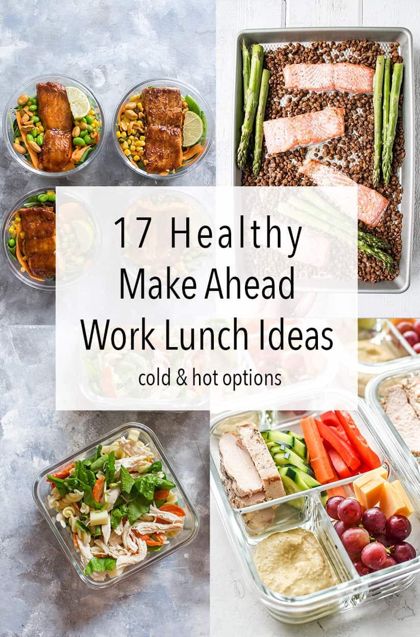 Healthy Make Ahead Lunches For Week  17 Healthy Make Ahead Work Lunch Ideas Carmy Run Eat